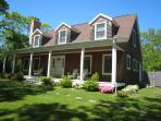 Spacious, beautifully maintained Cape Cod style vacation home.