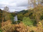 The River Tummel by Pitlochry