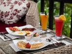 Breakfast - Included in our rate
