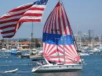 Fourth of July Boat Parade Casa de Balboa Newport Beach Vacation Rentals