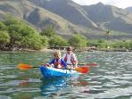 kayaking near Lahaina