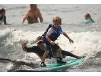 anyone can learn to surf!!