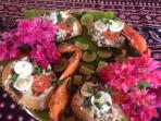 Yummy Crab platter