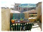 Sunny private roof terrace, great for sunbaking