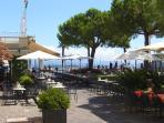 Cafe life on Lake Garda