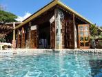 In the  Villa Zatarra Pool