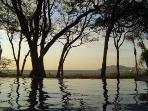 Infinity pool on Tamarindo Beach