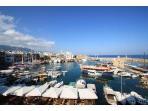Kyrenia's horseshoe harbour - 35 min walk from Jasmine Villa