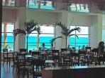 One of our restaurants.  Ask about our very flexible all inclusive option, EACH day is optional.