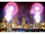 Spectacular fireworks show from balcony every Friday NIGHT from grand balcony!!!