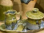 Visit Local Pottery or make your own