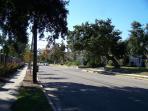 2nd street view of neighborhood