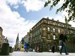 buidling apartment is in on Royal Mile