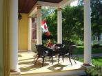 Morning coffee on the front porch?