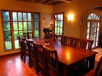 Villa Tranquila, Dining Table, Vacation Home Sleeps 12