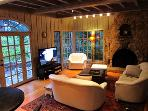 Villa Tranquila, Living Space, Wine Country Rental