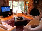 Villa Tranquila, Large Living Room, Flatscreen and Windows