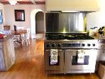 Villa Tranquila, Gourmet Stove Top and Oven