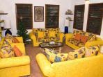 Casa Grande Festive Living Room
