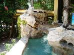nice pool to cool off in front of the house