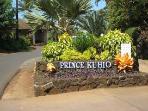 Entrance to Prince Kuhio site