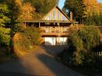 Harmony Retreat with glowing fall colors