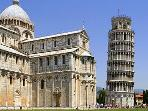 Famous Cities: Pisa 2 hours driving or by trian