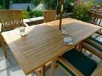 Quality teak garden furniture