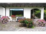 The Garden House - terrace view