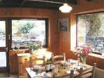 The Dining Room - gardens view