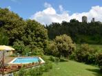 Pool Tuscany Villa le Capanne