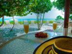 Oceans Edge Beachfront Villa - Enjoy a Drink and Soak up the View from your own patio