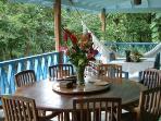 Veranda dining