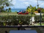 Sea-view Apartment - Patio view