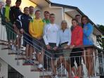 Luthianian athletics squad