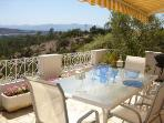 Top Terrace with Awning - 180° sea view