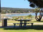 BBQ area on foreshore - 2 minute walk from Edge