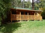 Hummingbird Cabin in spring