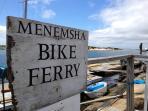 Miles of bike paths on island