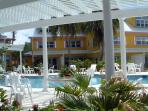 Pool Area - Right Outside the Door to Cayman Sunset
