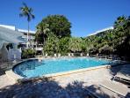 Island Beach Club heated pool
