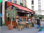 The famous Café La Bourgogne