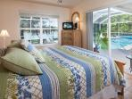 Pretty Queen Bedroom with Glorious Views