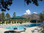 The Country Club Pool for Summer guests. Guests have access to another pool, tennis, golf, fitness C