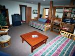 Very Large Kids room w/Air Hockey & 3 beds with pull outs can sleep 6.