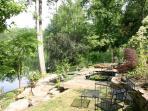 Spacious organic gardens