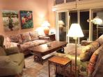 Wailele living room in the evening
