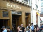 Home of the Famous Berthillon Ice Cream.