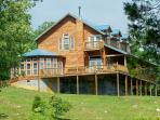 "A ""do-it-yourself"" B & B and large cabin/50 acres"
