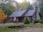 Higman Park Cabin - Autumn View